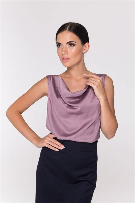 Women's Silk Blouses and Tops
