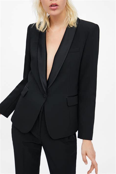 Women Tuxedo Jacket Blazer