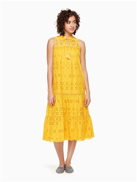 Galerry manning cartell sheath dress yellow