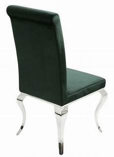 stuhl modern casa padrino designer esszimmerstuhl edelgr 252 n designer