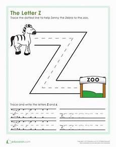 preschool worksheets letter z 24263 the letter z worksheet education
