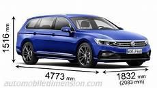 Dimensions Des Voitures Volkswagen Avec Longueur Largeur