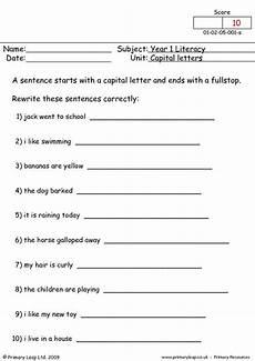 capital letter worksheets grade 3 23105 worksheets activities