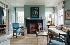Home Decor Ideas For Living Room Blue by 8 Top Interior Designers Their Favorite Blue Paint