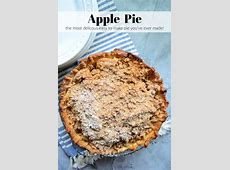 dutch apple crumb pie recipe