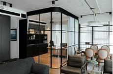 cloison en verre upgraded loft apartments modern loft space