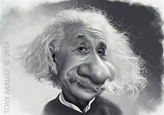 Caricatura De Einstein Karikaturen Karikatur Einstein