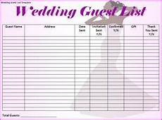 free printable wedding guest list tracker printable wedding guest list worksheet wedding