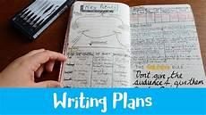 Writing Plans Bullet Journal Bujo