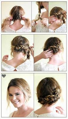 pictures of braided hairstyles for short hair step by step