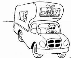 Malvorlagen Auto Mit Wohnwagen Wohnmobil 3 Ausmalbild Malvorlage Sport