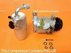 automobile air conditioning service 2006 chevrolet suburban electronic valve timing 2003 2006 chevy tahoe suburban yukon 1500 2500 a c compressor kit w wrty ebay