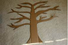 baum basteln pappe how to cardboard toilet paper roll tree crafting a
