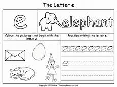 letter e worksheets 24106 letters of the alphabet teaching pack 24 powerpoint presentations and 26 worksheets by