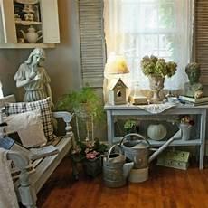 Shabby Chic Accessoires - le style shabby chic conquiert le salon jardin