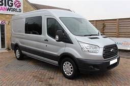 Used FORD TRANSIT 350 TDCI 130 L3H2 TREND DOUBLE CAB 6