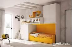 da letto soppalcata letti a compact camerette per bambini