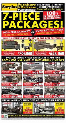 Surplus Furniture Kitchener Surplus Furniture And Mattress Warehouse Canada Flyers