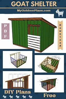 goat housing plans simple plans to goat shelter goat barn goats