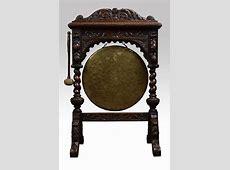 Victorian Carved Oak Framed Dinner Gong   Antiques Atlas