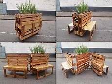 mobilier en palette banc de design int 233 ressant recycled pallets cheap patio