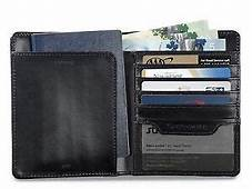 Samsonite Leather Travel Wallet With RFID Technology ID