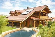 Haus Bauen Holz - holzhaus aus massiven kantholzbalken quot k 246 sslinger