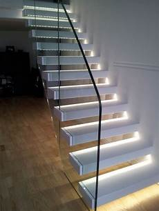 led spots treppe staircase with led lights sparkle words social