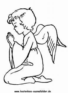 Engel Malvorlagen Zum Ausdrucken Zum Ausdrucken Ausmalbilder Engel Ausmalen Ausmalbild Betender Engel