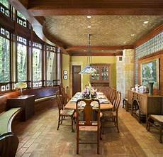 arts and crafts dining room arts crafts residence dining room traditional