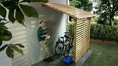 Fiets Garage Overkapping Backyard Pergola Bicycle