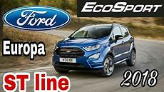ford ecosport st line 2018 europa