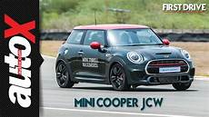 2019 mini jcw review 2019 mini cooper works review drive autox