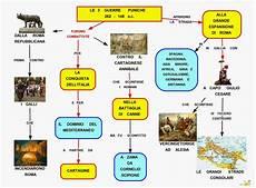 riassunto guerre persiane mappa concettuale guerre puniche scuolissima