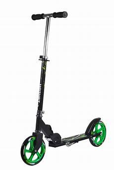 push scooter hudora hornet 205 neon green 14929 city