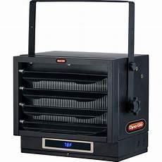 electric garage dyna glo 7 500 watt dual heat electric garage heater with