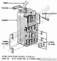 1970 ford truck f600 alternator wiring diagram fuse panel question ford truck enthusiasts forums