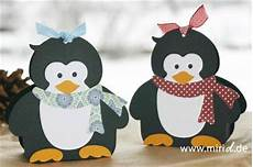 Bastelvorlage Pinguin Papier - the patterns and gifts on