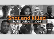 unarmed people killed by cops