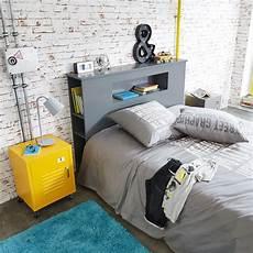 tete de lit grise t 234 te de lit grise l 140 cm tonic maisons du monde