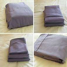how to fold bed sheets neatly four simple ways to fold your sheets picture perfectly designs ideas dornob