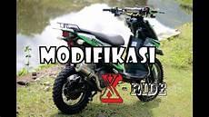 Modifikasi Motor X Ride 2018 by Modifikasi Adventure Trail Yamaha X Ride