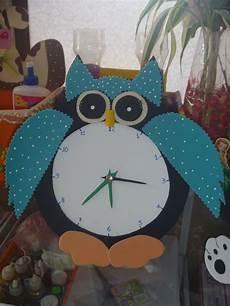 reloj buho manualidades en fomix