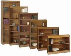 36 quot wide bookcases w 100 lb capacity shelves
