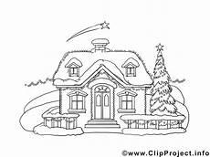 Malvorlage Haus Weihnachten Mal Vorlage Haus Im Winter