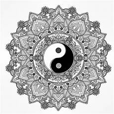 ying yang coloring pages at getcolorings free