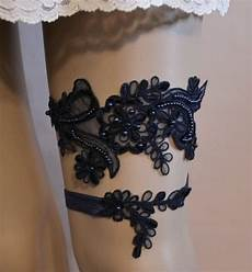 Black Wedding Garter