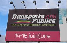 salon transport 2016 trans dossier transports publics 2016