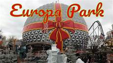 visiting europa park theme park in rust germany