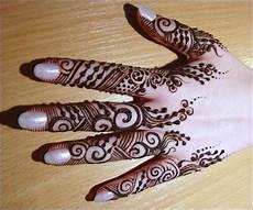 Gambar Henna Simple Dan Mudah Gambar Kelabu
